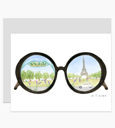 Dear Hancock Paris Glasses