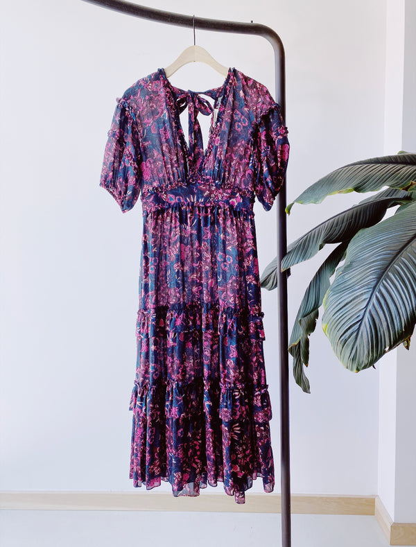 Ulla Johnson Amora Dress Midnight