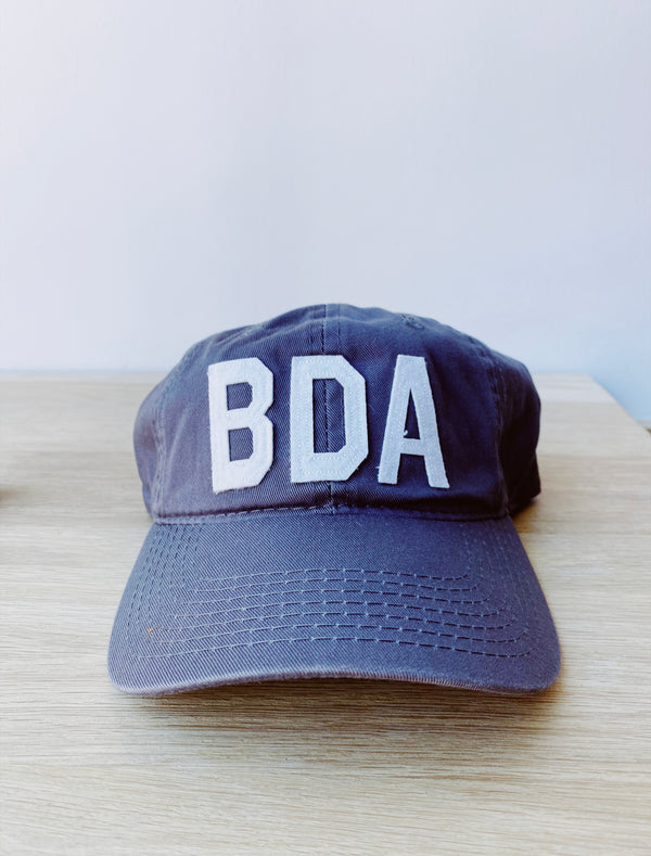 Bermuda Hat Grey/White