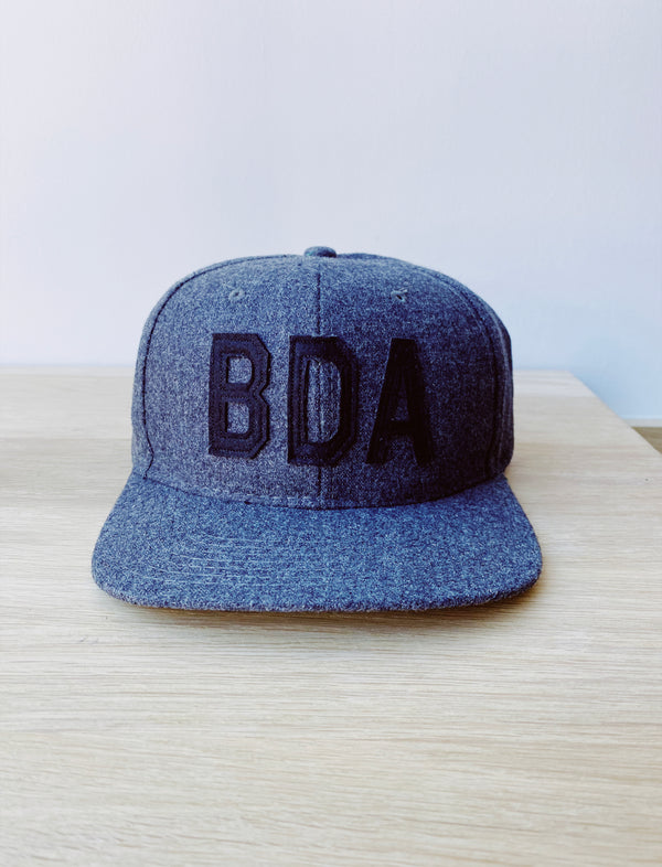 Bermuda Hat Wool Charcoal/Black