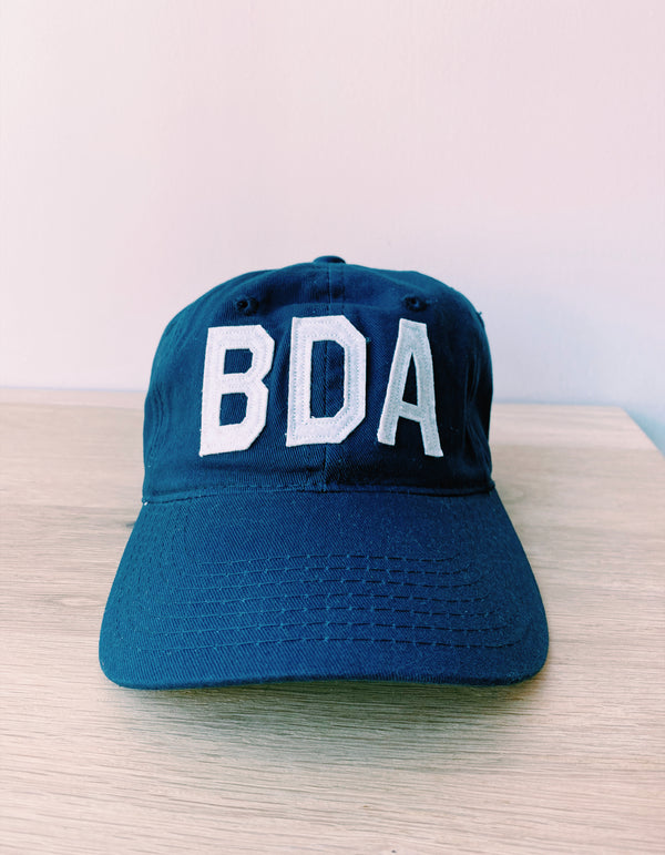 Bermuda Hat Navy/White