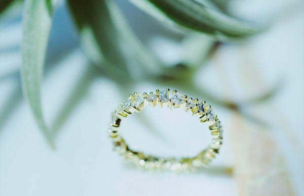 EF Collection Diamond Multifaceted Eternity Ring