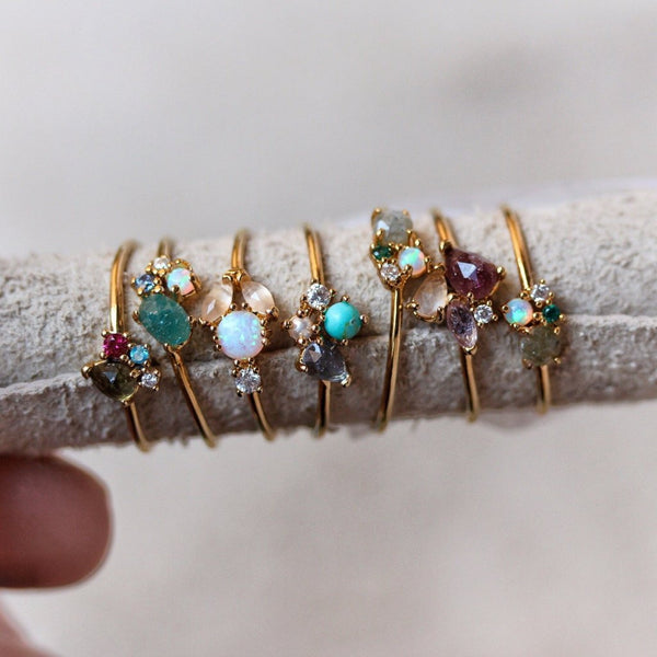 Tai Mini cluster ring