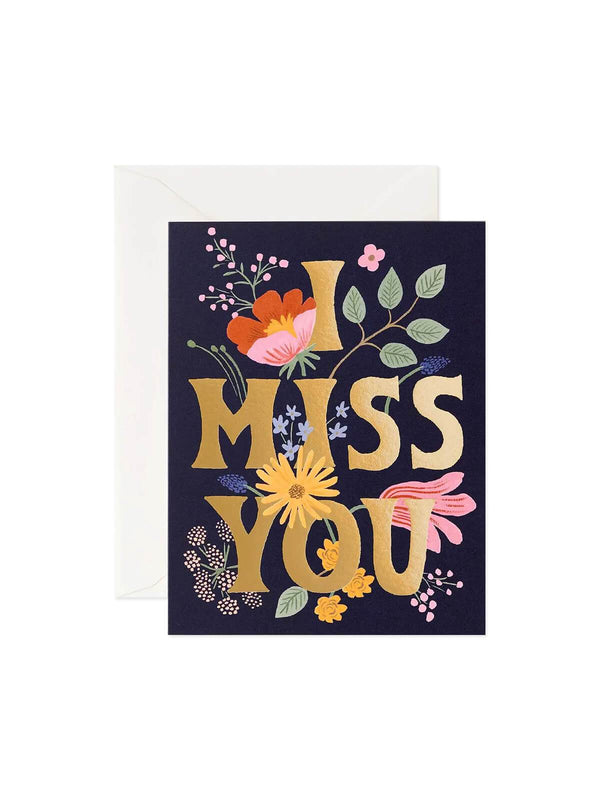 Rifle Paper Co. I Miss You Card