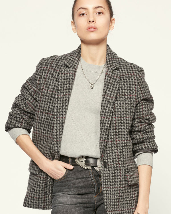 Isabel Marant Charly Jacket Anthracite