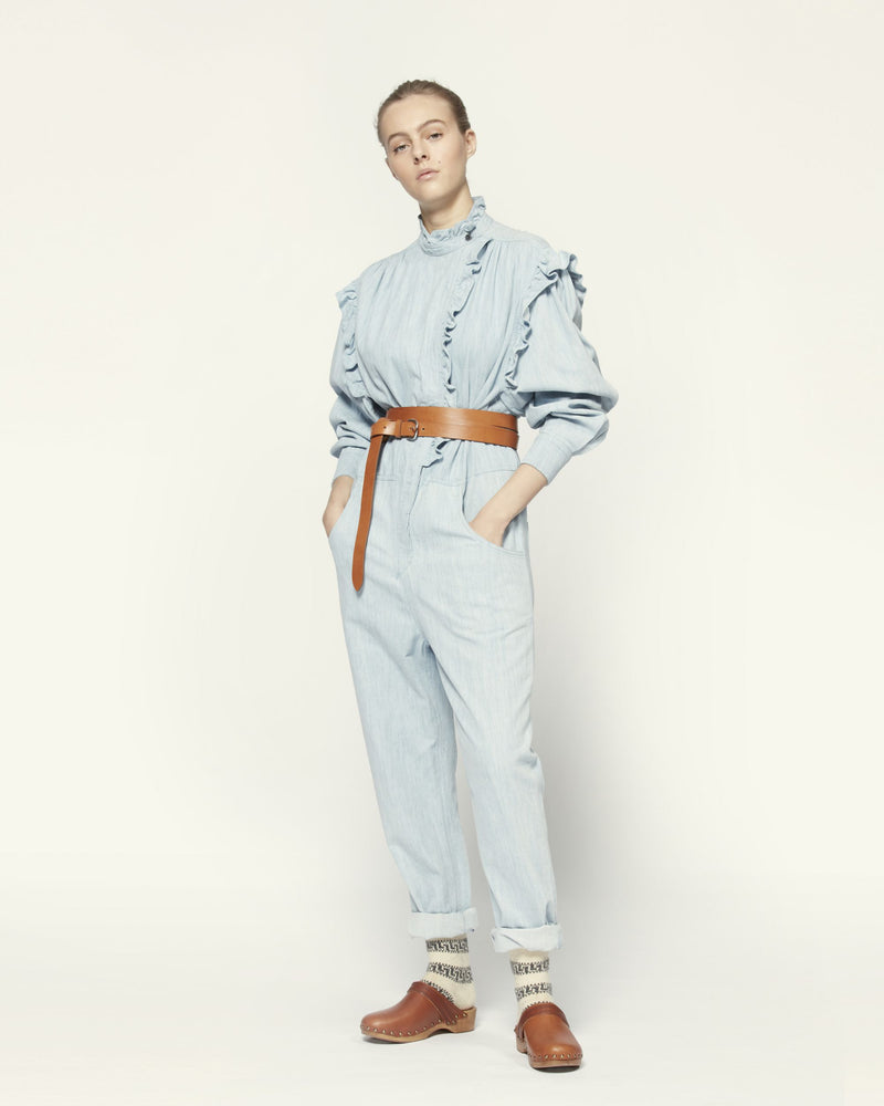 Isabel Marant Gayle Overall Light Blue