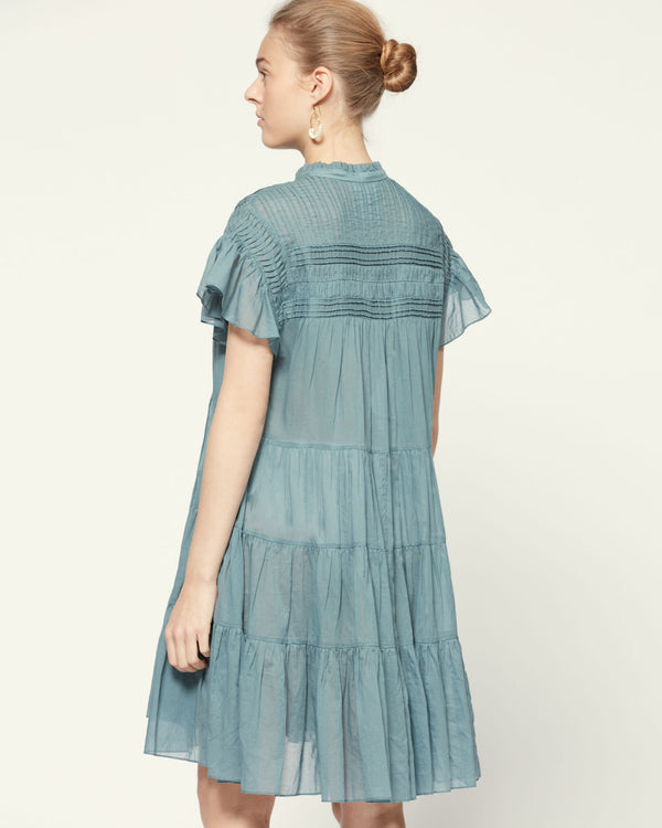Isabel Marant Lanikaye Dress Greyish Blue