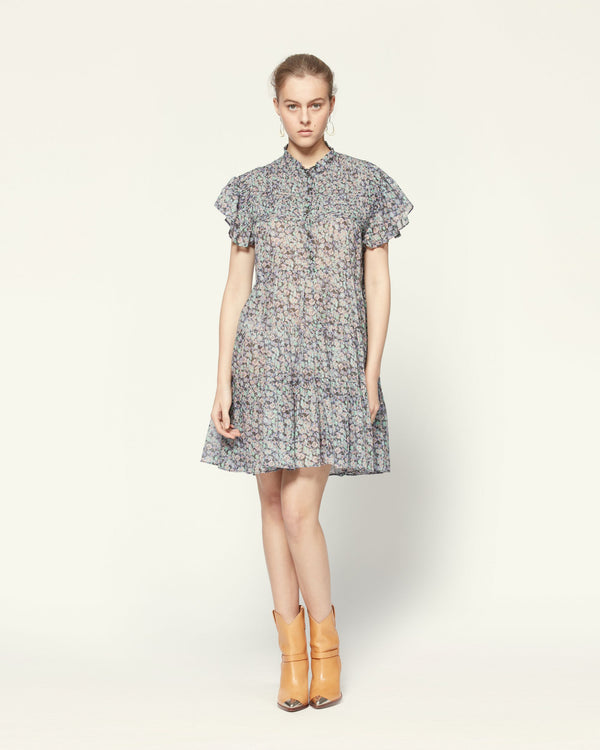 Isabel Marant Lanikaye Dress Multicolor