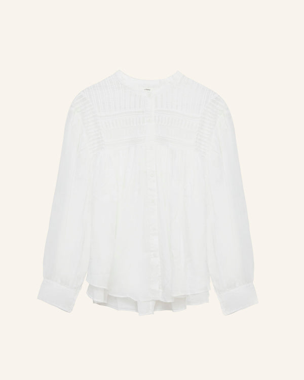 Isabel Marant Plalia Top White