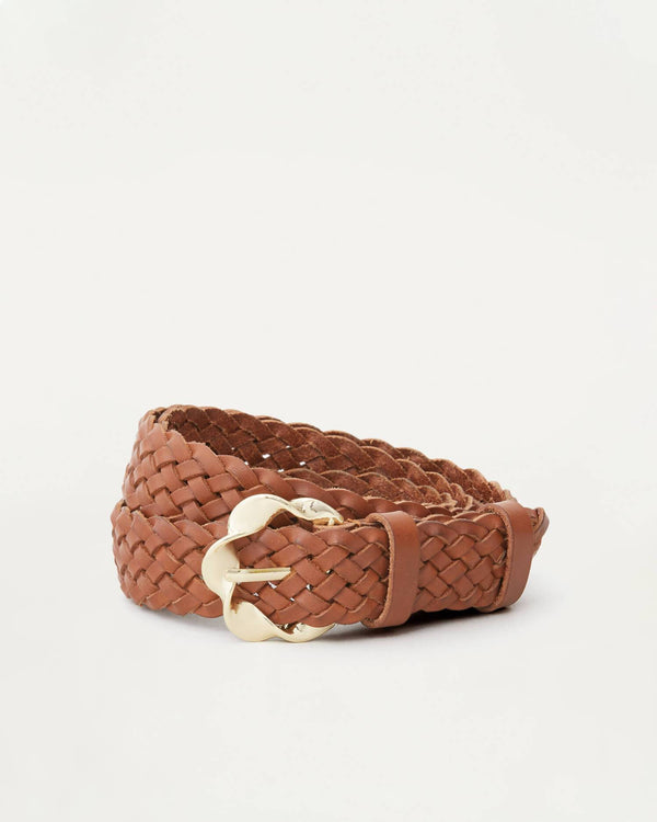 Loeffler Randall Josephine Abstract Twistbuckle Woven Belt