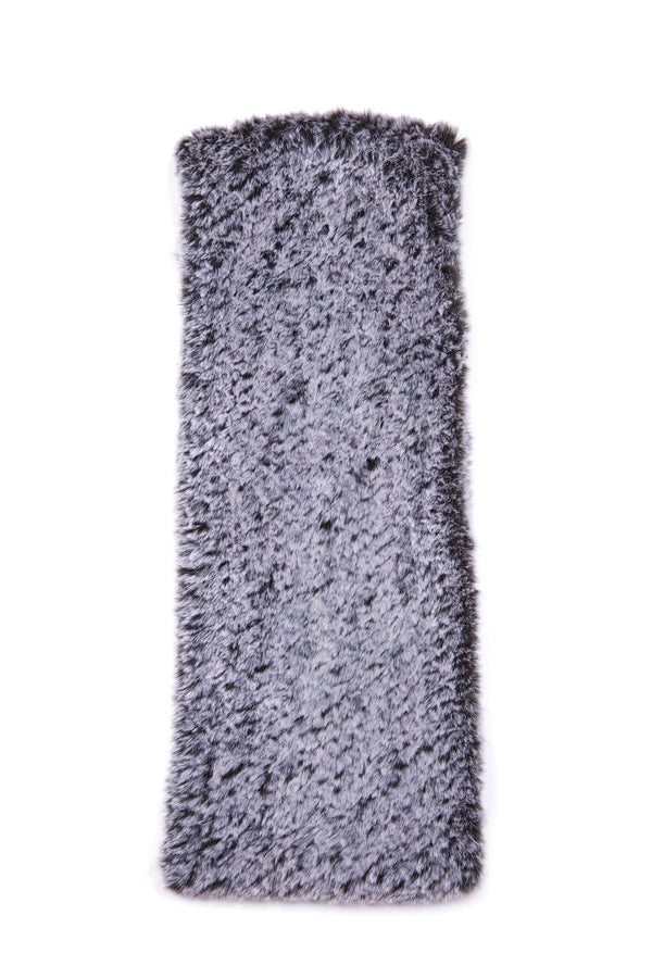Jocelyn Snowtop Knitted Faux Fur Stretch Cowl