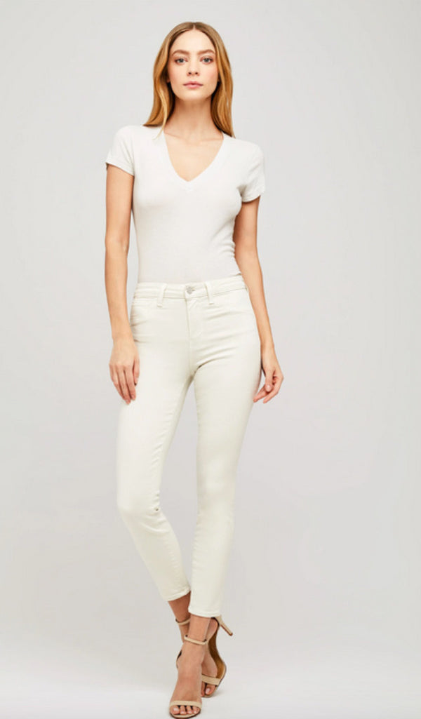L'Agence Margot High Rise Skinny Granite