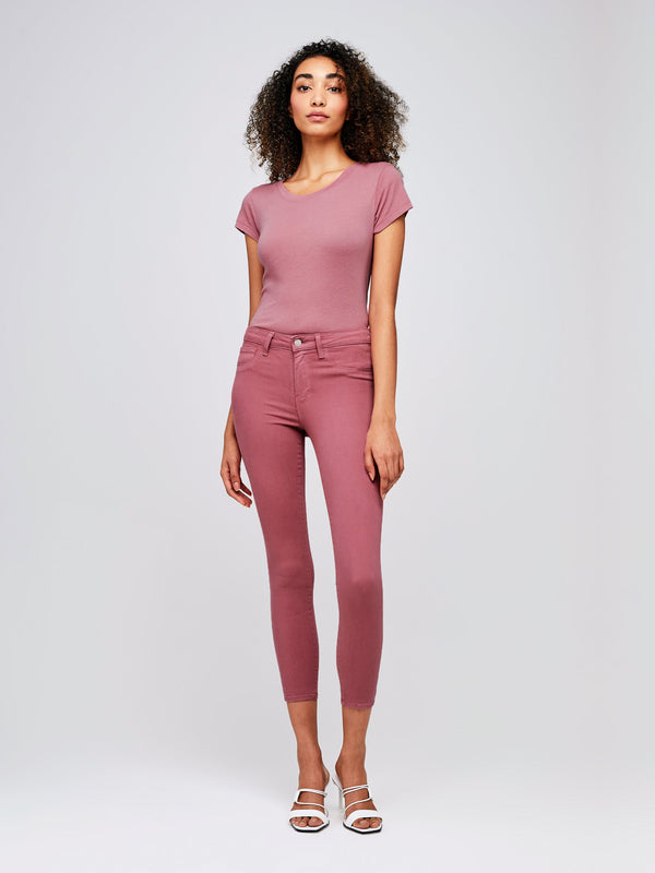 L'Agence Margot High Rise Skinny Wildrose