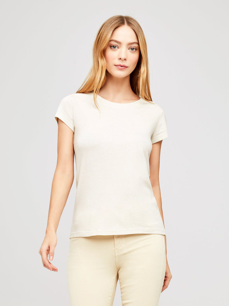 L'Agence Cory Scoop Neck Coconut
