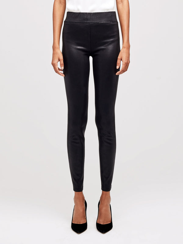 L'Agence Rochelle Pull On Jean Black Coated