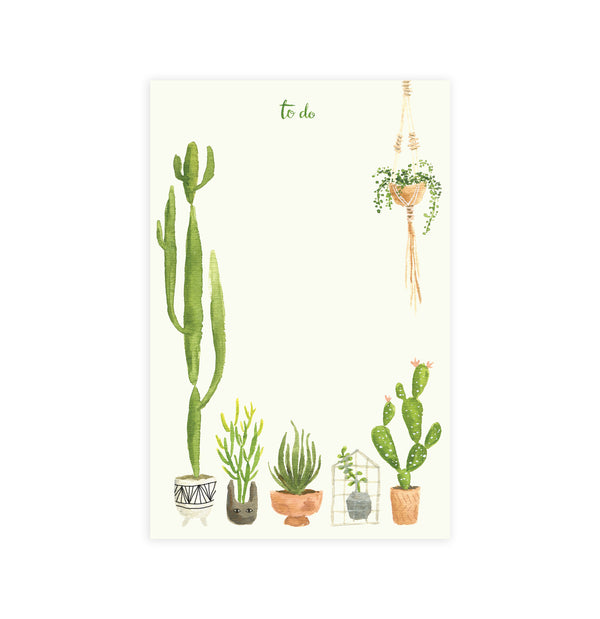 Lake Erie Design Co Houseplants Notepad