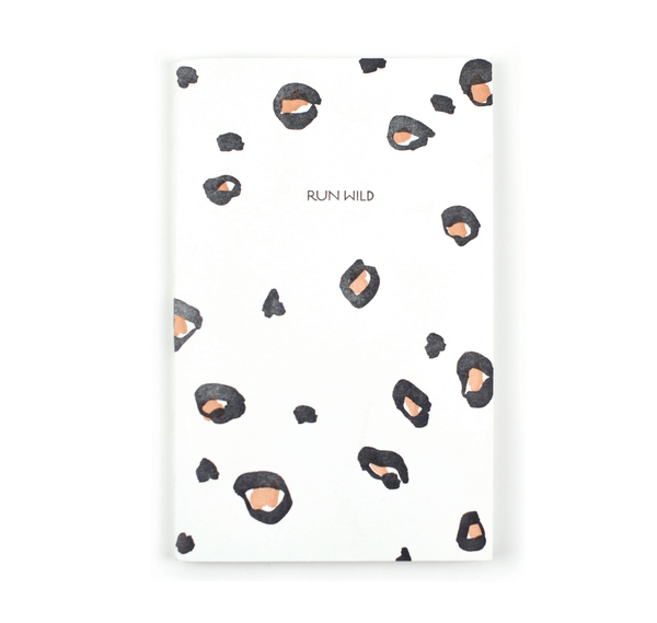 Lake Erie Design Co Run Wild Notebook