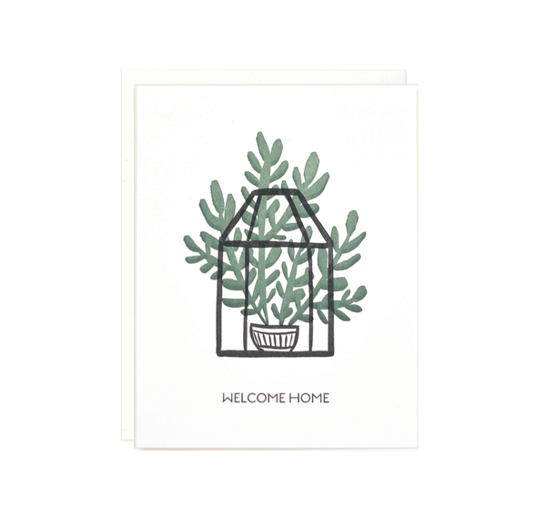 Lake Erie Design Co Welcome Home - Terrarium