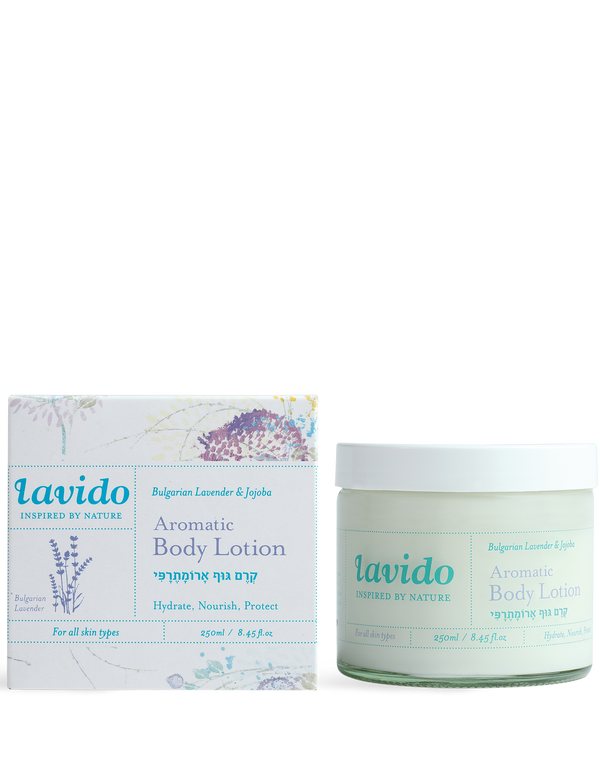 Lavido Aromatic Body Lotion 250 ml (Bulgarian Lavender & Jojoba)