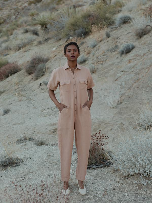 Ozma Painter's Jumpsuit Desert