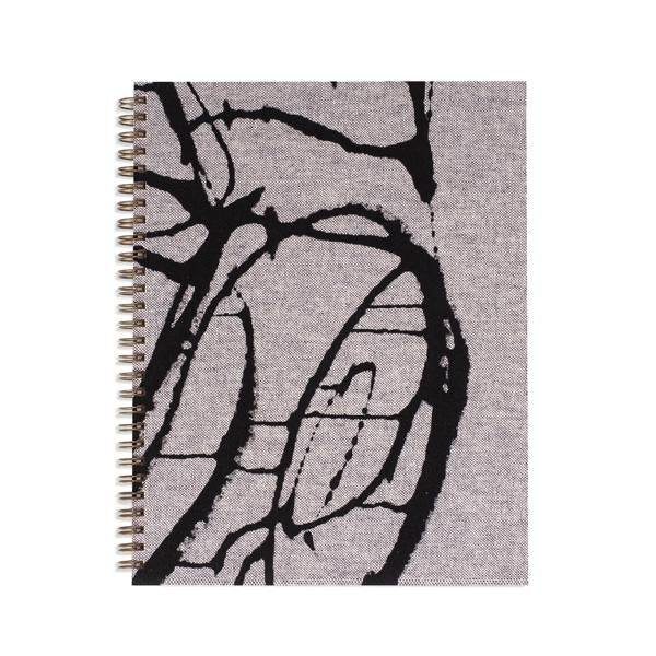 Moglea Notebooks Painted Workbook Blipblop, grey