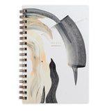 Moglea Notebooks Weekly Jotter Smoke, Black