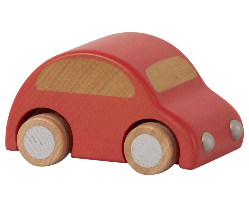 Maileg Wooden car - Red