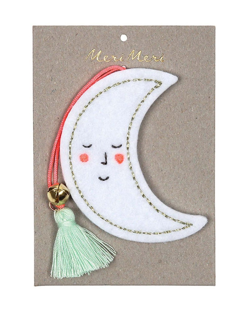 Meri Meri Felt Moon Decoration