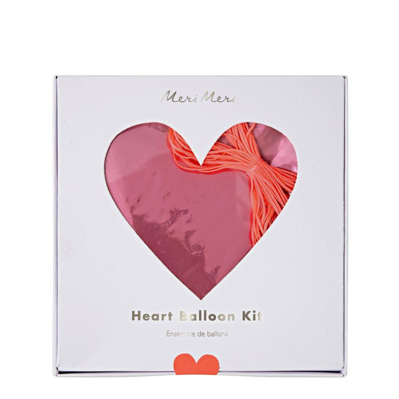 Meri Meri Heart Balloon Set
