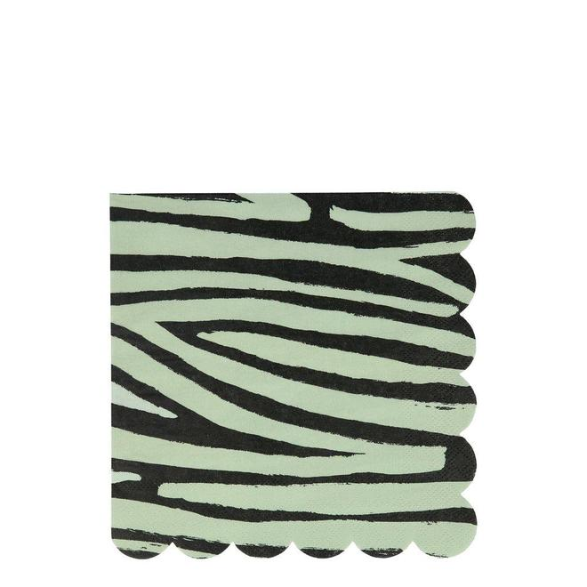 Meri Meri Safari Animal Print Large Napkins