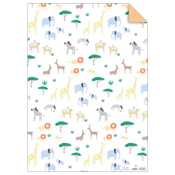 Meri Meri Safari Gift Wrap Sheets