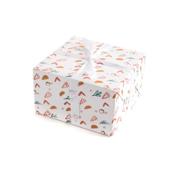 Moglea Gift Wrap - Pizza Taco Wrap Roll
