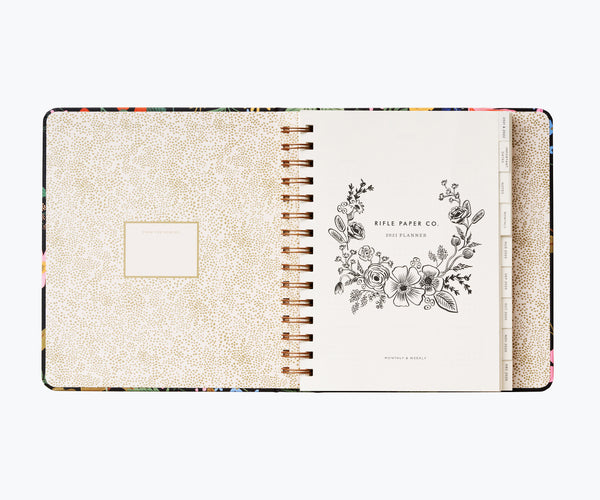 Rifle Paper Co. 2021 Strawberry Fields Covered Planner