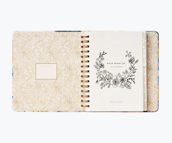 Rifle Paper Co. 2021 Luisa Covered Planner