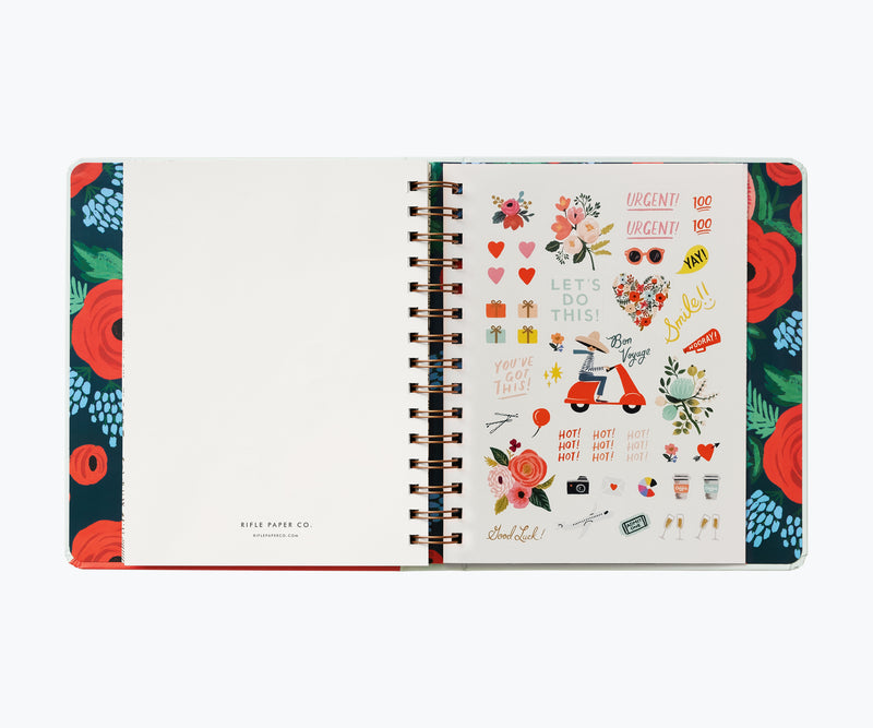 Rifle Paper Co. 2021 Type A Covered Planner