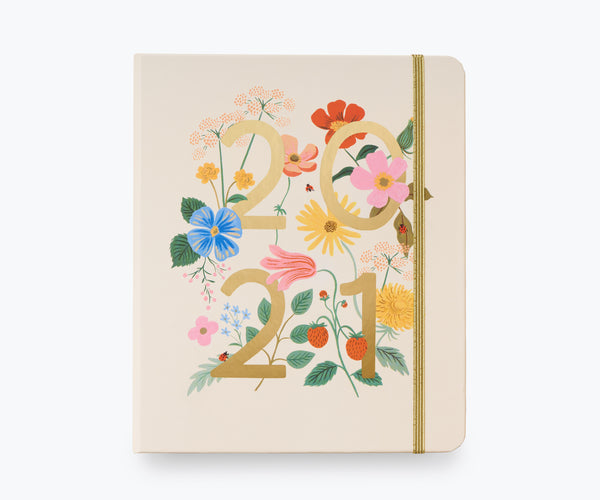 Rifle Paper Co. 2021 Wild Garden Covered Planner