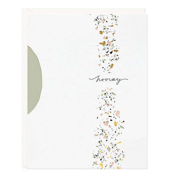 Ramona & Ruth Hooray Confetti Card