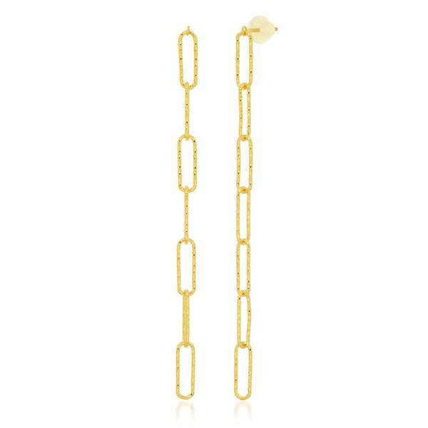 Tai link chain drop earrings