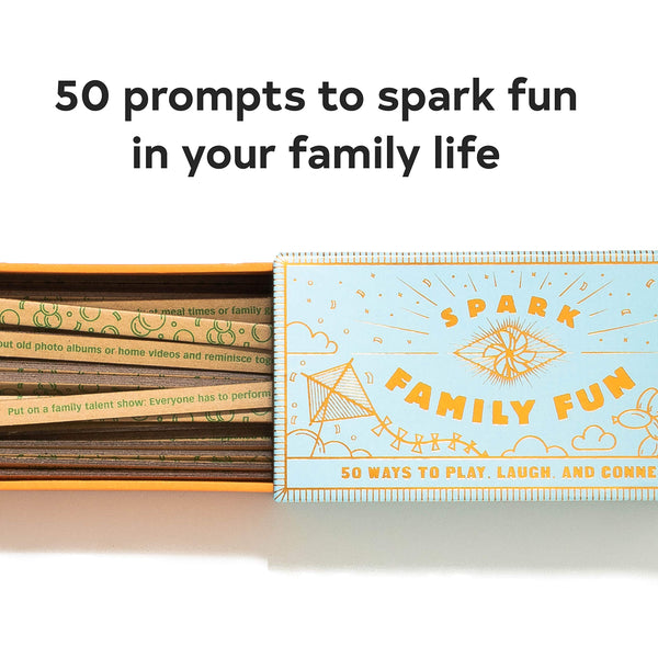 Spark Family Fun: 50 Ways to Play Laugh and Connect (Fun Family Game Game Road)