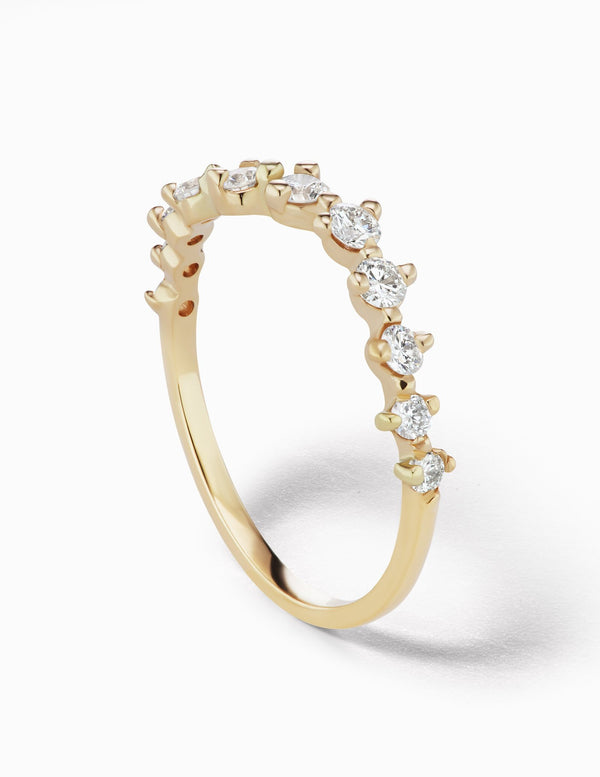 Sophie Ratner Half Diamond Swell Band