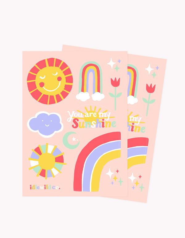 Idlewild Sunshine Stickers (2 Sheets)