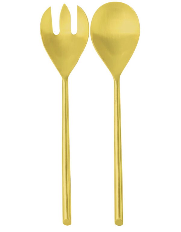 Be Home Matte Gold Serving Set
