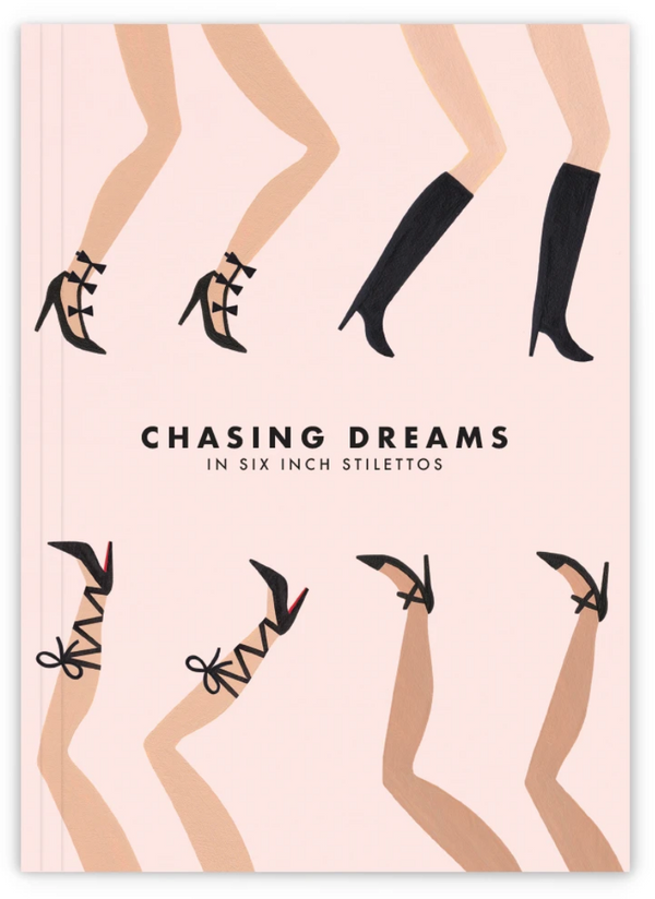 Girl with Knife Chasing Dreams Journal
