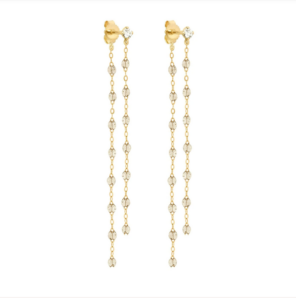 Gigi Clozeau Classic Diamond Dancing Earrings