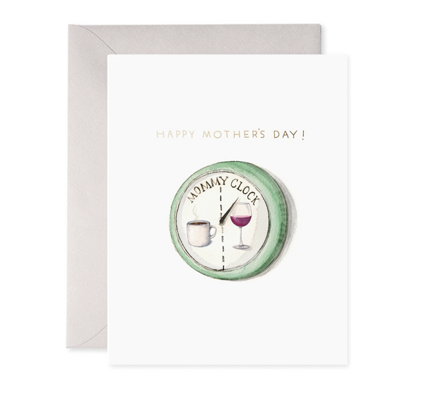 E Frances Paper Mommy Clock