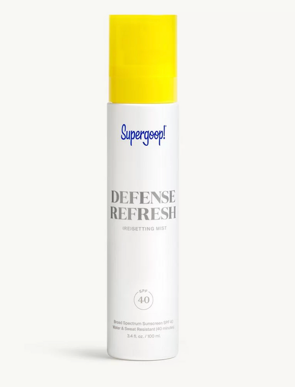 Supergoop! Defense Refresh (Re)setting Mist SPF 40
