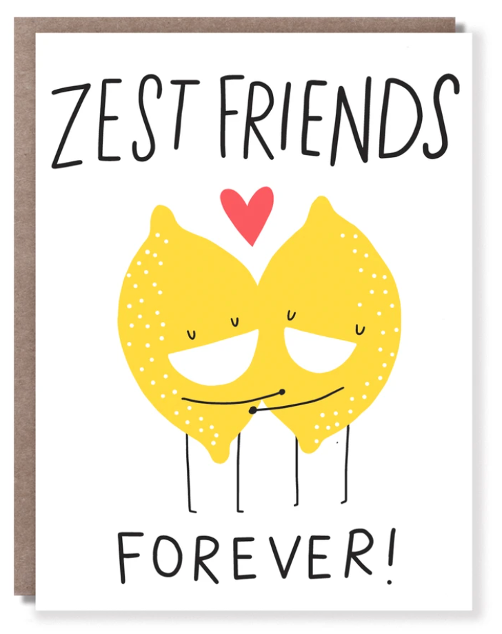 Egg Press zest friends