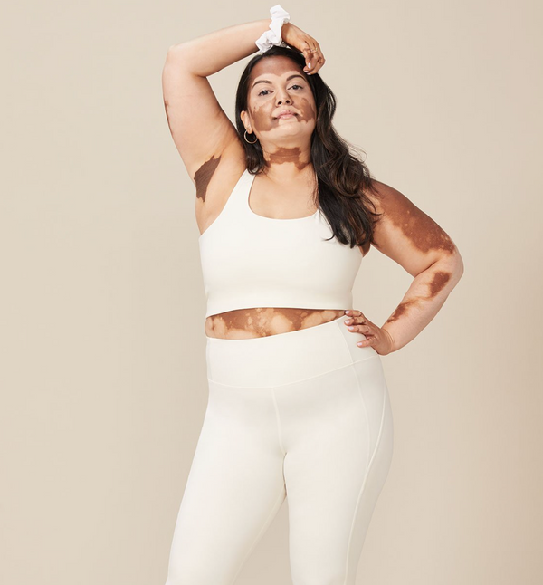 Girlfriend Collective Paloma Bra Ivory