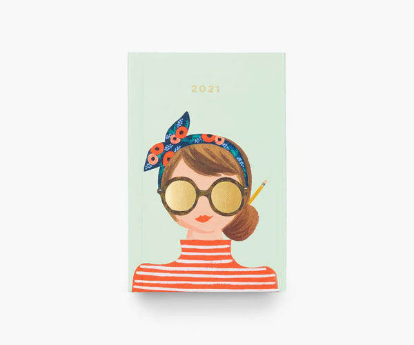 Rifle Paper Co. 2021 Hair Bow Pocket Planner