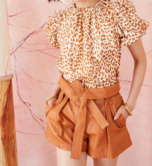 Ulla Johnson Isolda Top Cheeta